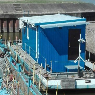 budowa pawilonu z blachy
