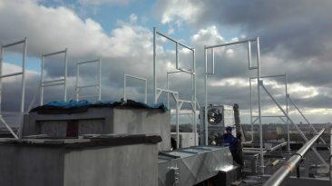 konstrukcja stalowa do zabudowy