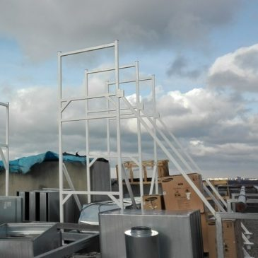 Konstrukcje wsporcze pod wyrzutnie dachowe